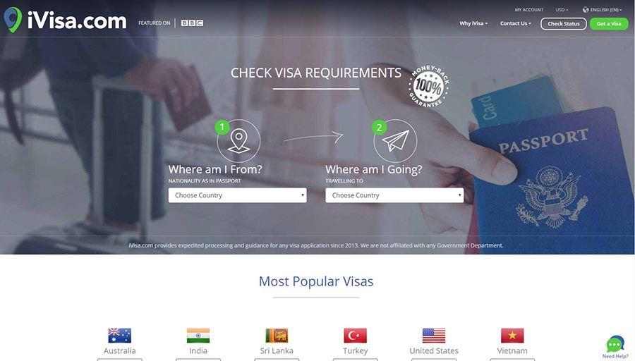 Ivisa tramitar visados online