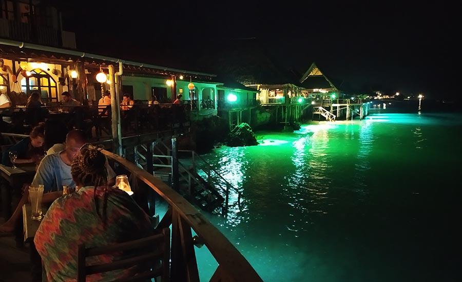 Restaurantes en Zanzíbar