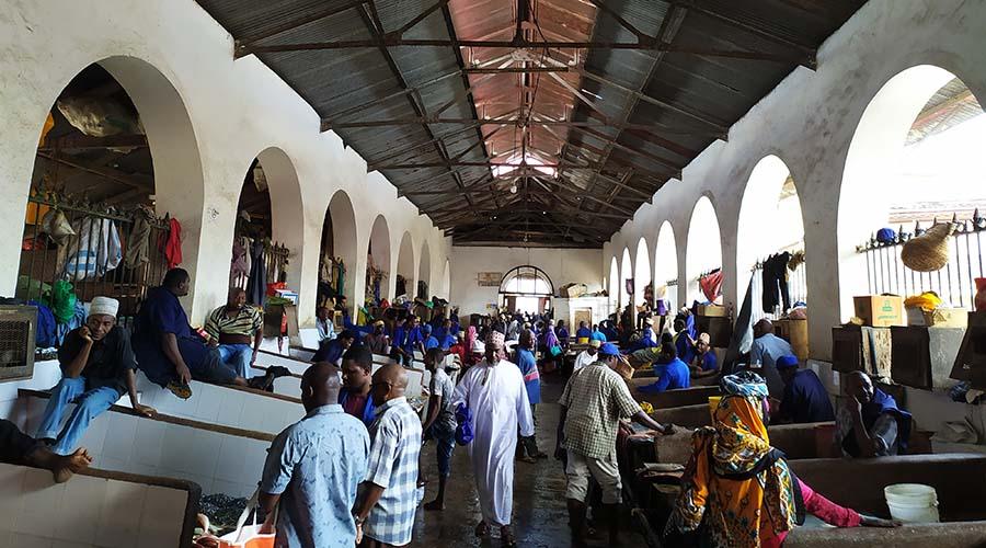 Mercado local de Stone Town