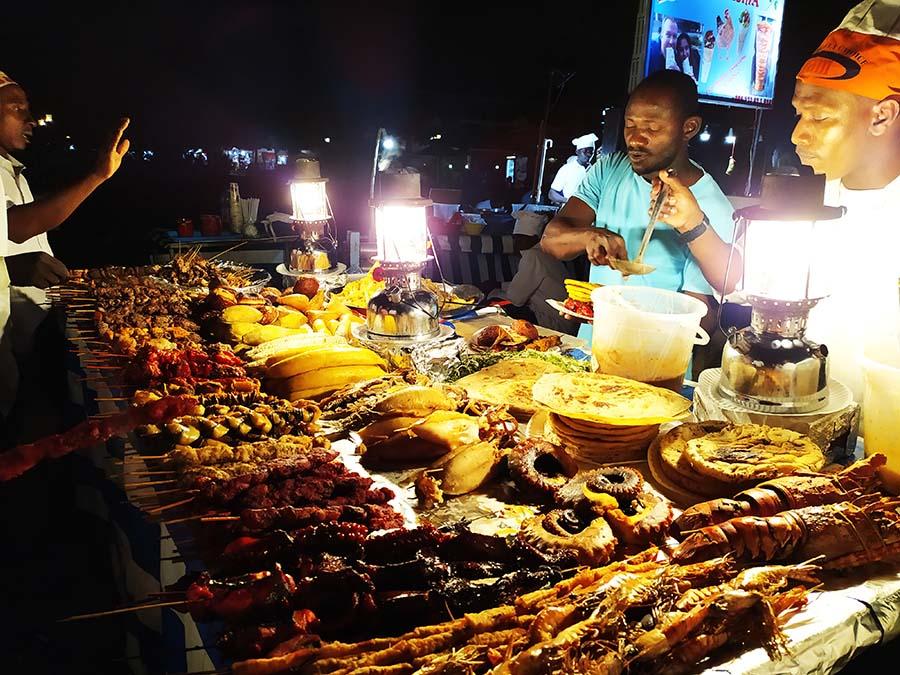Comida típica de Zanzibar