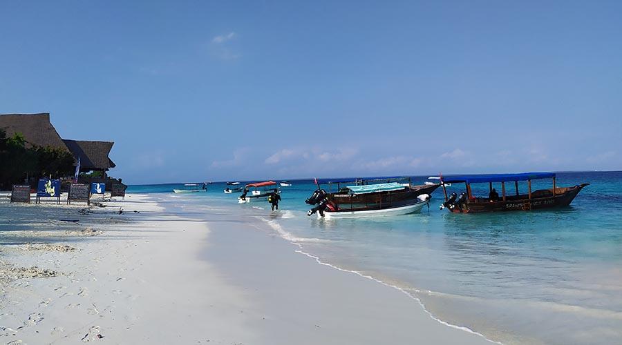 Playa de Nungwi en Zanzibar