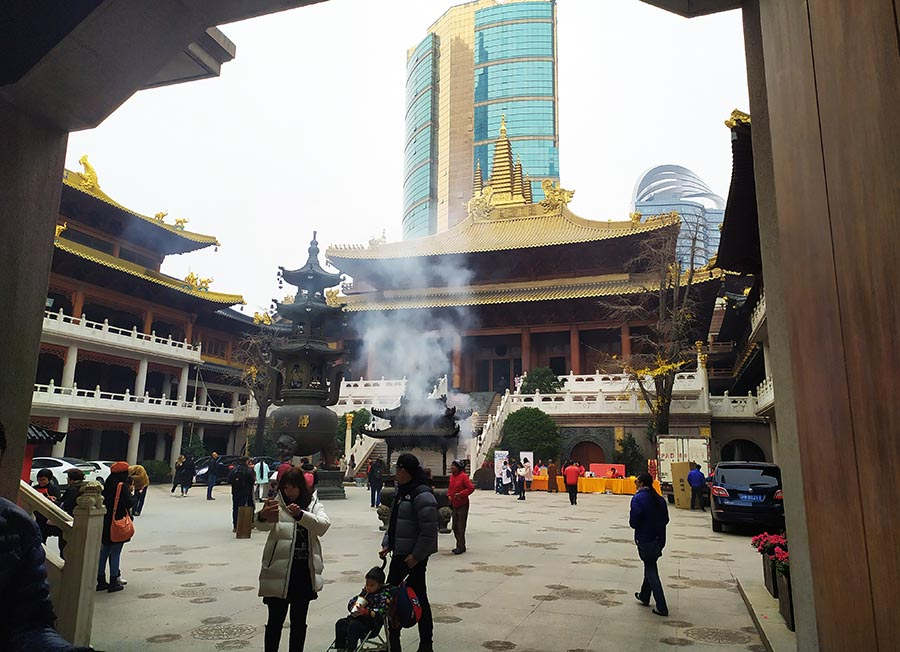 Ver Jian's temple Shanghai