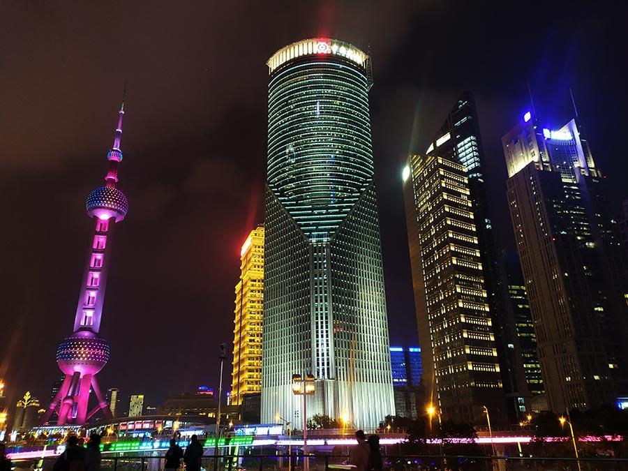 Rascacielos en Shanghai
