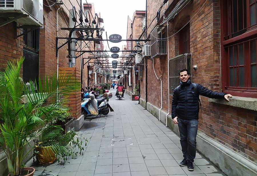 Hutongs en Shanghai
