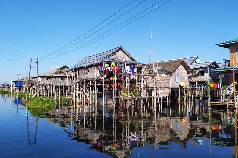 Casas-flotantes-Lago-Inle