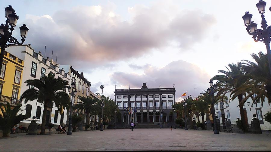 Barrio de Vegueta en Las Palmas