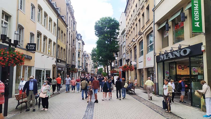 Calles de Luxemburgo