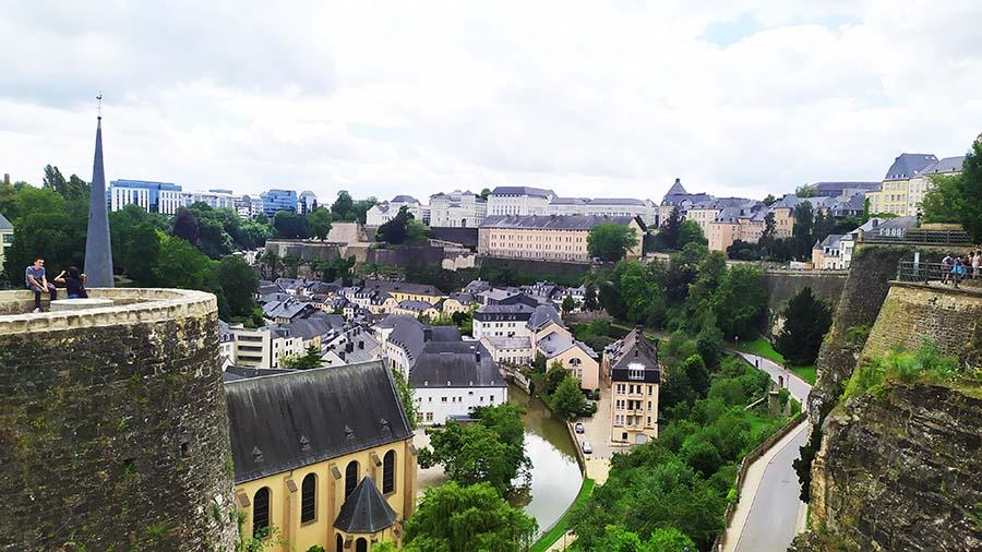 Chemin de la Corniche - Balcon de Europa Luxemburgo
