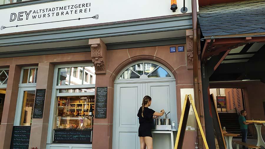 Comida tipica en Frankfurt