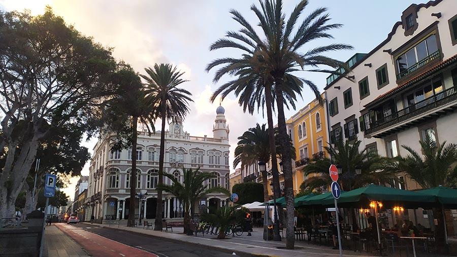 Las Palmas de Gran Canaria barrio Triana