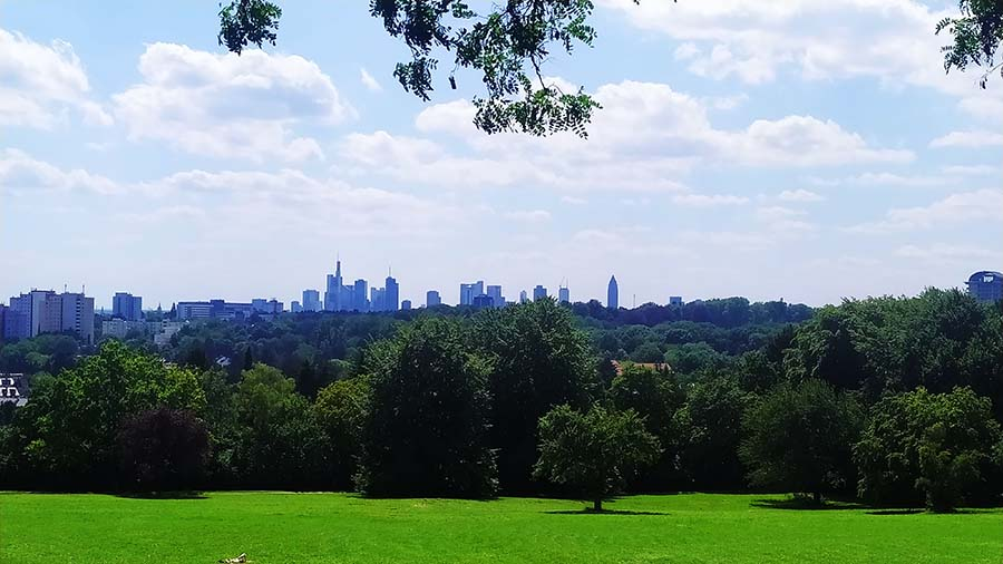Parque Lohrberg en Frankfurt