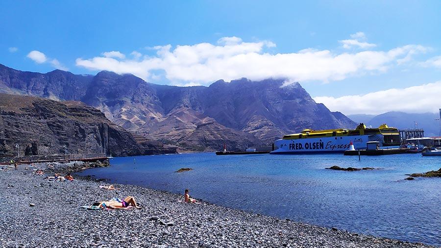 Playa de Agaete Gran Canaria