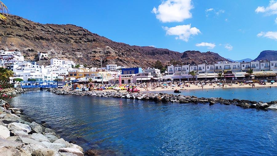 Playa de Puerto de Mogan Gran Canaria