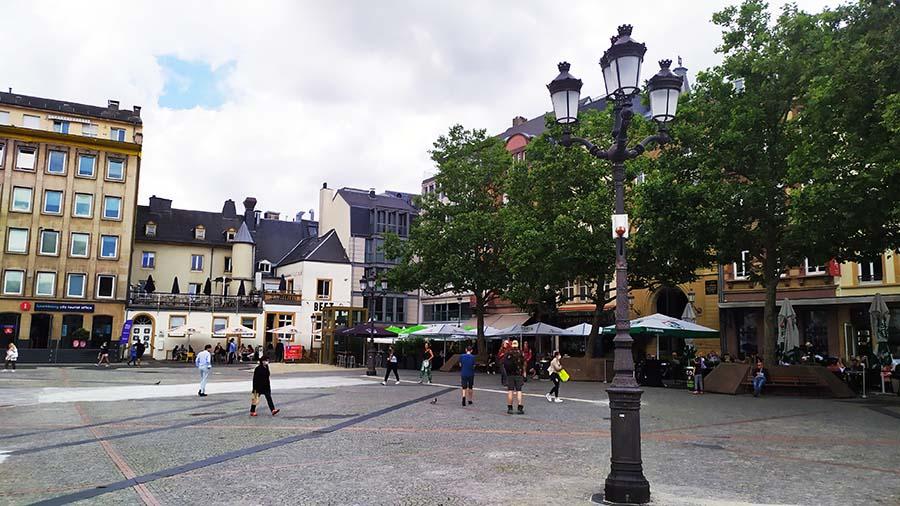 Plaza Guillermo II de Luxemburgo