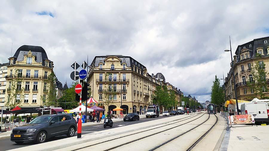 Plaza de los Mártires Luxemburgo