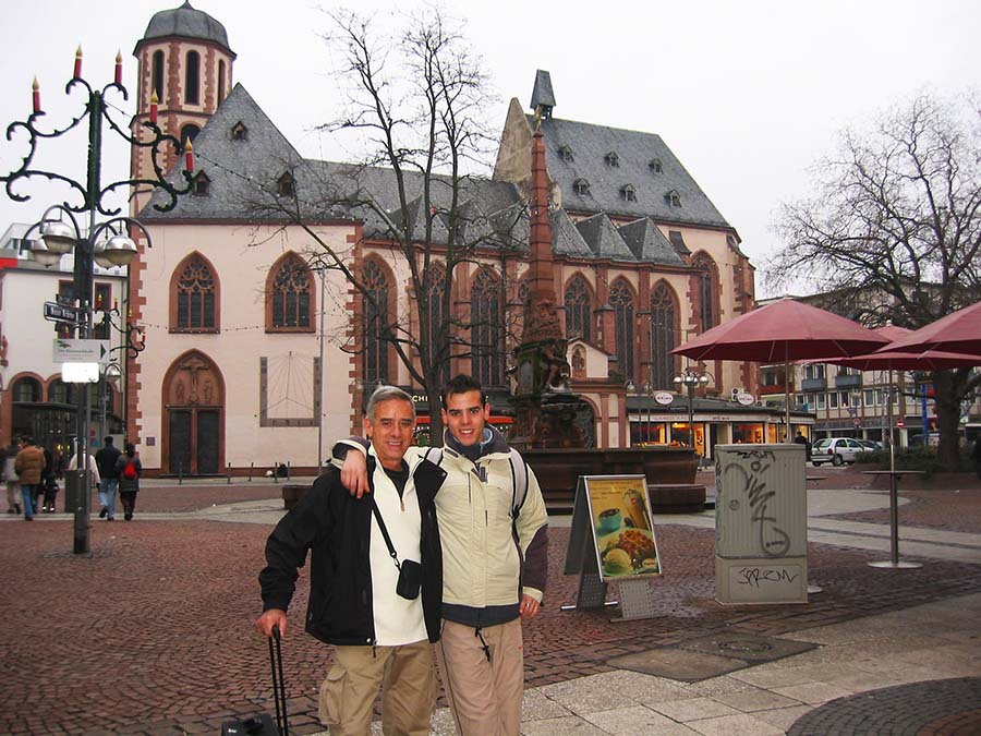 Primer viaje a Frankfurt con mi padre
