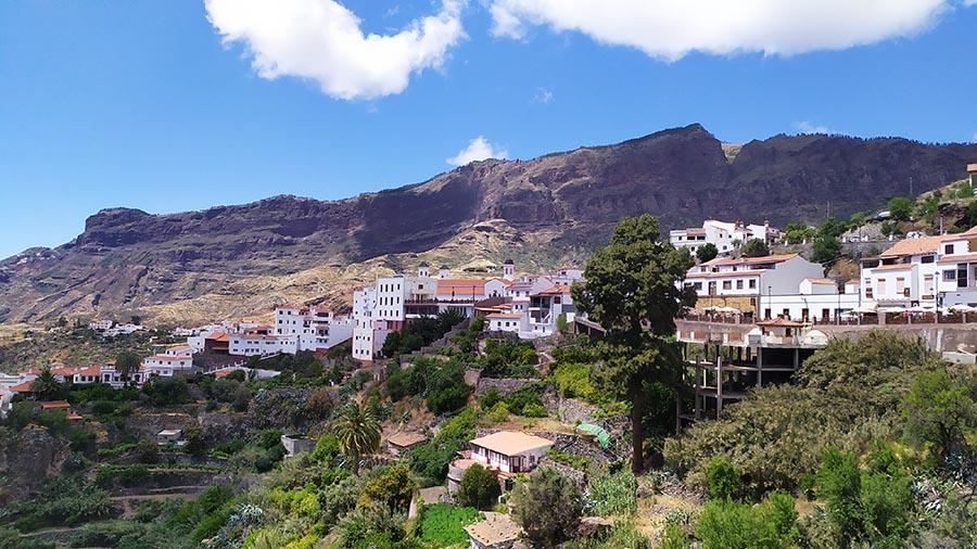 Pueblo de Tejeda Gran Canaria