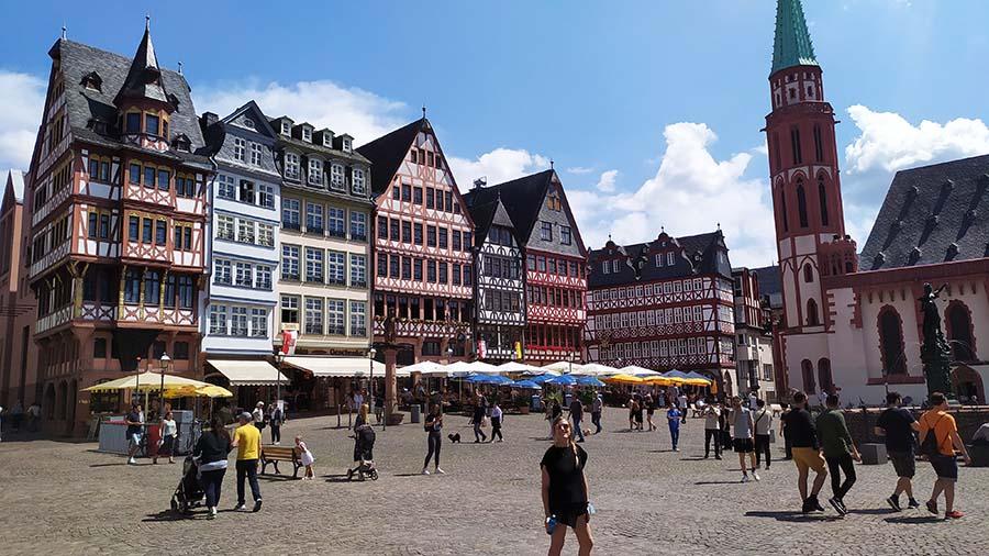Que ver en Frankfurt - Plaza Romer