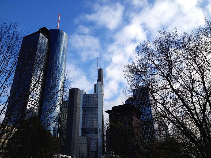 Rascacielos Skyline de Frankfurt