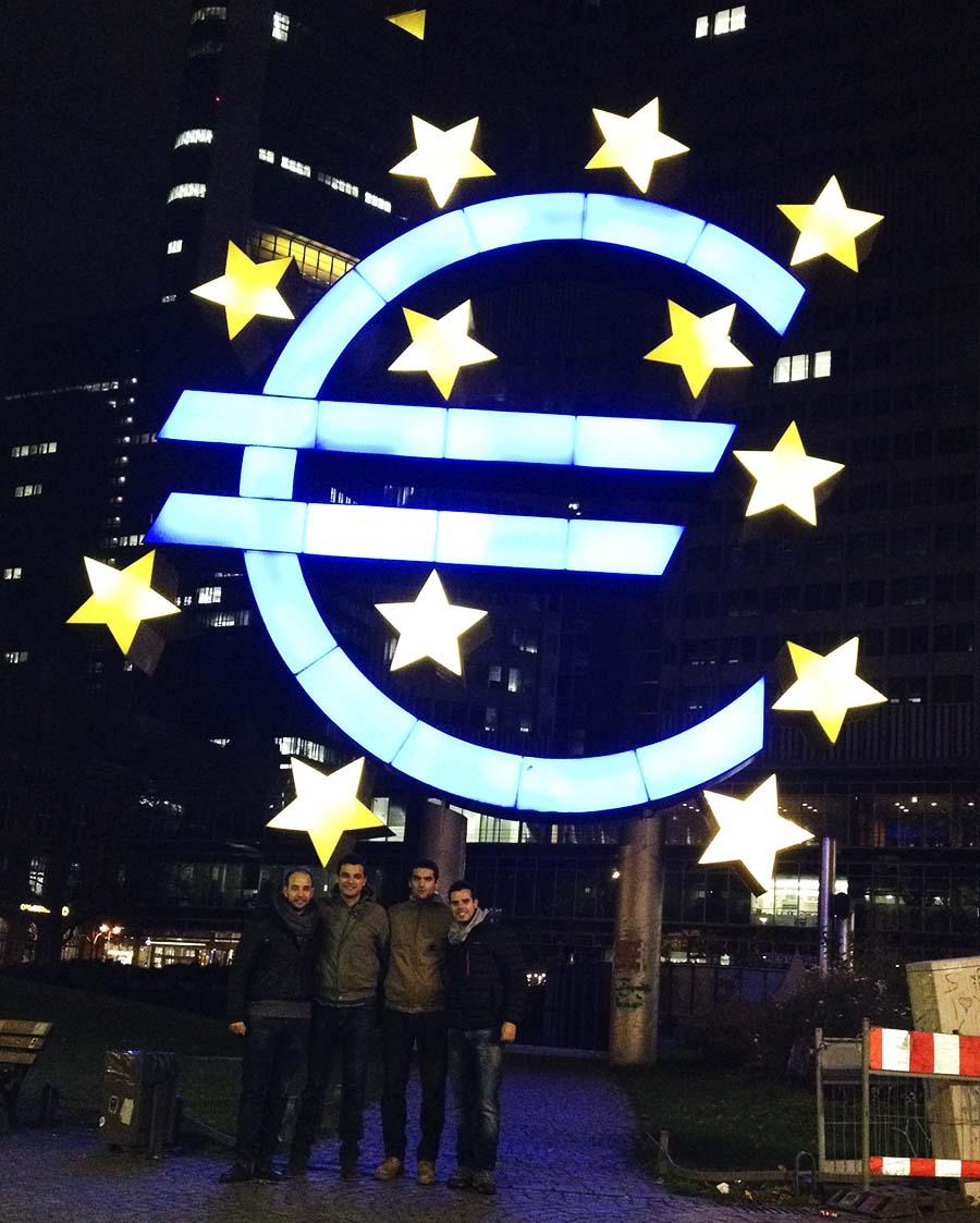 Sede banco central Europeo en Frankfurt