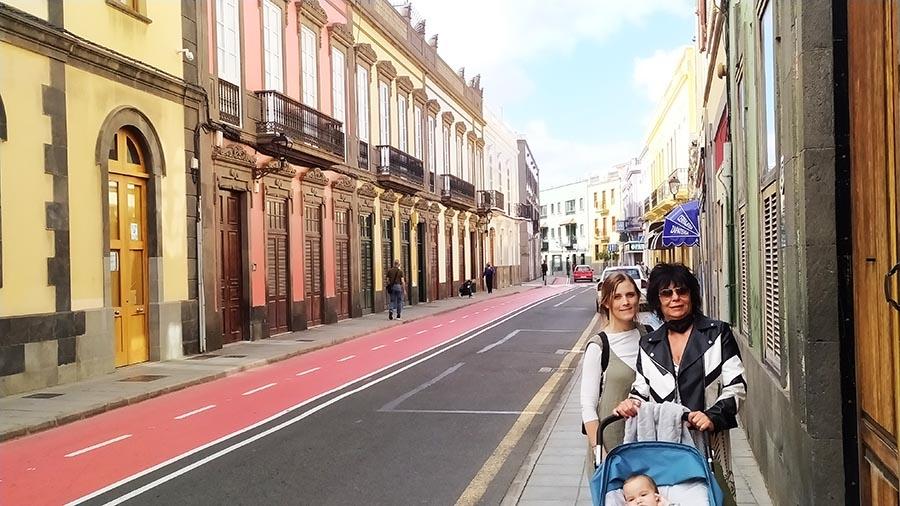 Seguridad en Gran Canaria barrio Vegueta