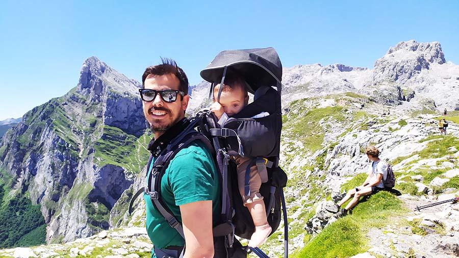 Trekking con bebe en Picos de Europa