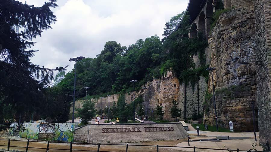 Visitar Vallé de la Pétrusse Luxemburgo