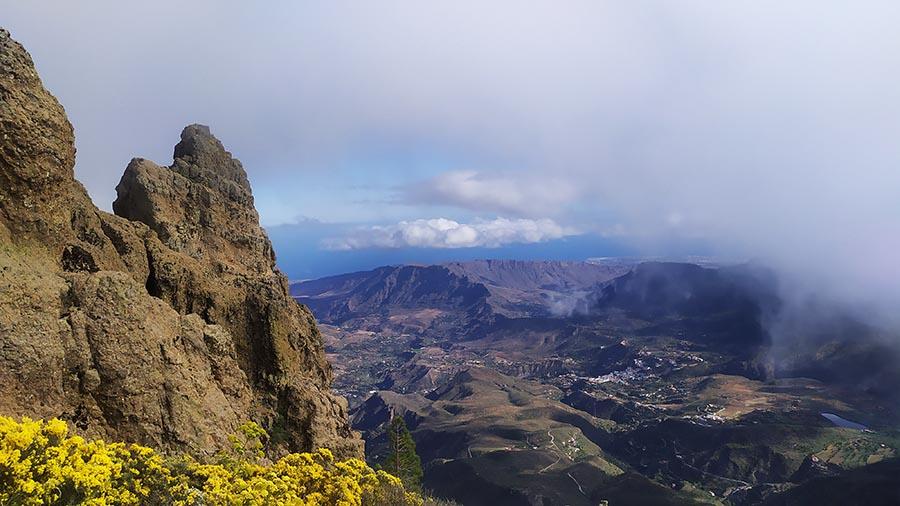 Vistas desde Pico de Las Nieves Gran Canaria